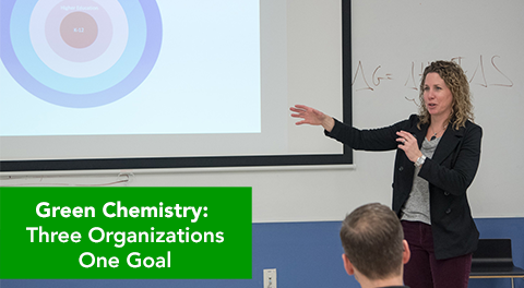 Green Chemistry: Three Organizations... One Goal!
